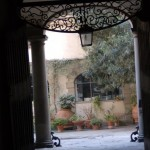 courtyard in old Florence