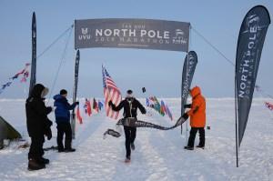 The North Pole marathon 2014. No free use!