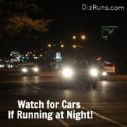 Be Seen While Running at Night