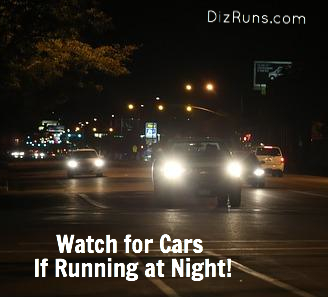 Be Seen Running at Night