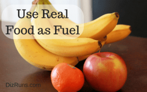 Use Real Food as Your Mid Race Fueling Choice