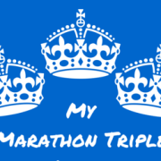 My Marathon Triple Crown
