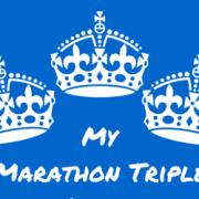 My Marathon Triple Crown
