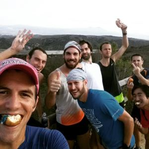 Mike Bell and the Running Community Post Trail Run