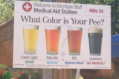 Pee Color Reduce the Risks of Heat Injuries