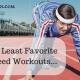 My Least Favorite Speed Workouts