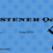 Listener Q&A June 2015