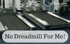 You Should Never Run on the Treadmill
