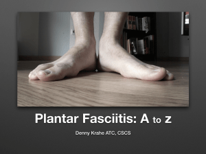 Plantar Fasciitis Video Course