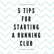 Starting a Running Club