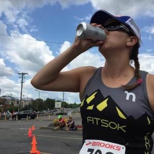 Sara Welle Mid-Beer Mile
