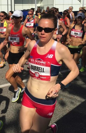 Teal Burrell in the 2016 Olympic Trials