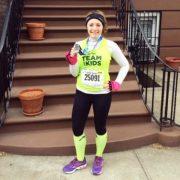 Katie Rosenbrock, Medal in Hand