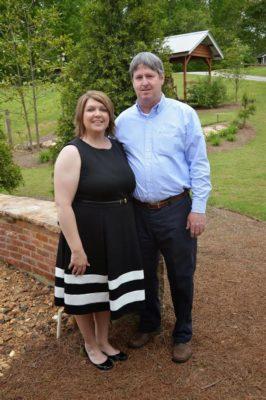 Kristina Richardson & Her Husband, May 2015