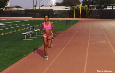Natalie Mitchell's First Run After Knee Surgery