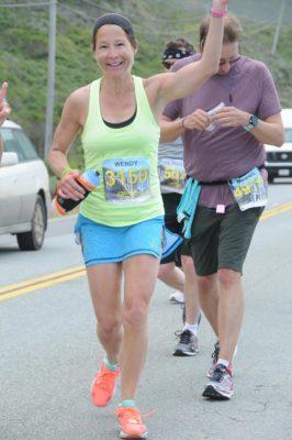 Wendy Rivard Running Big Sur