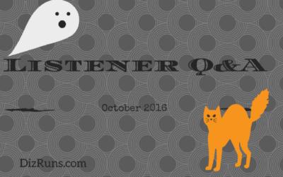 Listener Q&A October 2016