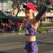 Krysta Gunvalson Clearly Loves Running