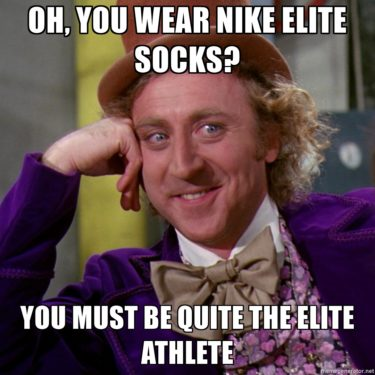 I am an Elite Athlete