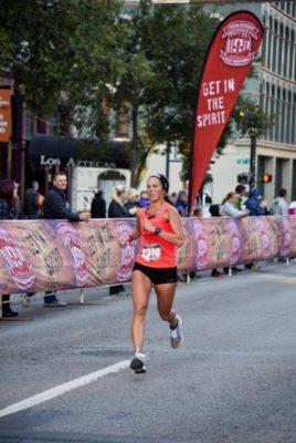 April Woo Mid-Race