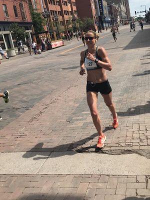 Amy Feit, Mid-Race