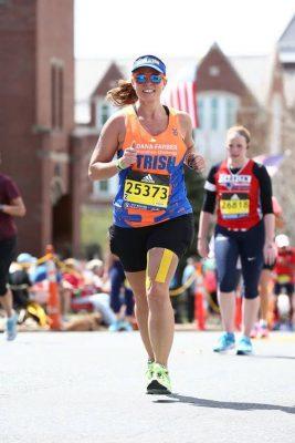 Trish Trout, Running Boston