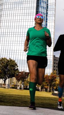 Carlee Daub Running