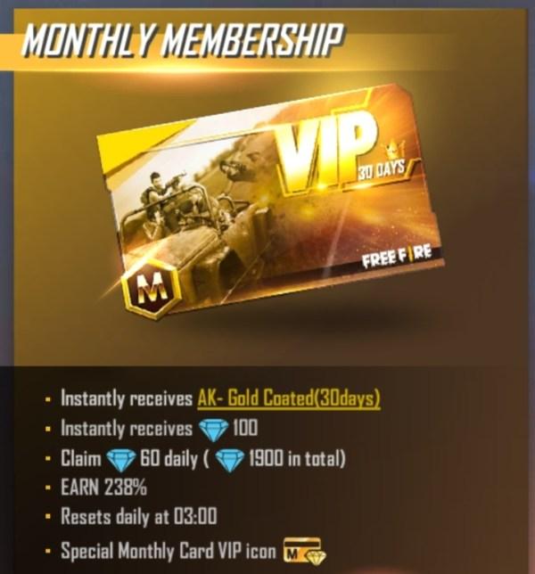 Monthly Membership 1