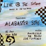Alabaster Stag at Tin Roof Brewing Poster
