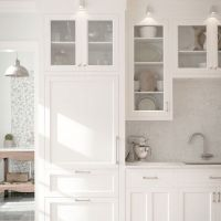 37+ Top Choices of White Shaker Kitchen Cabinets