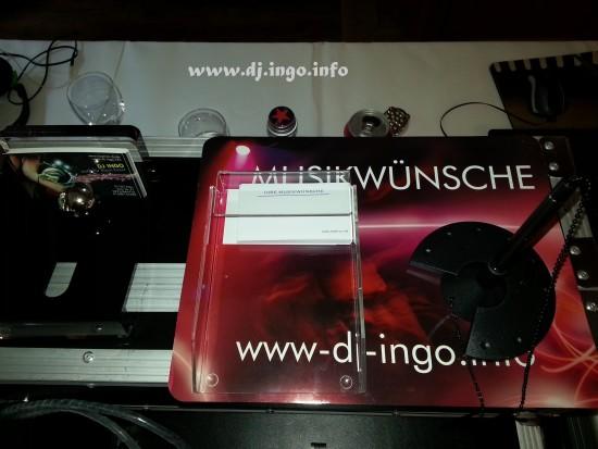 DJ Zons  DJ Kln Discjockey Ingo Kln Hochzeiten