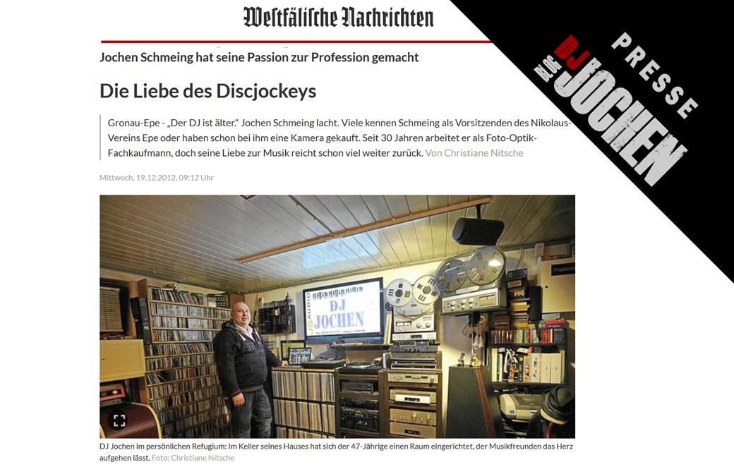 PRESSE: WN über DJ-JOCHEN