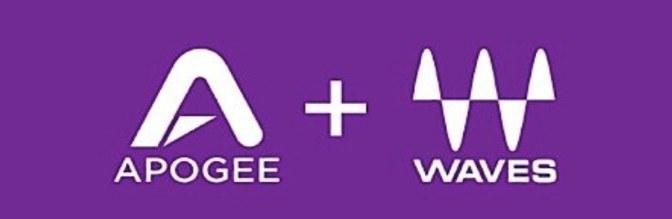[News] Apogee + Waves Plugins in offerta