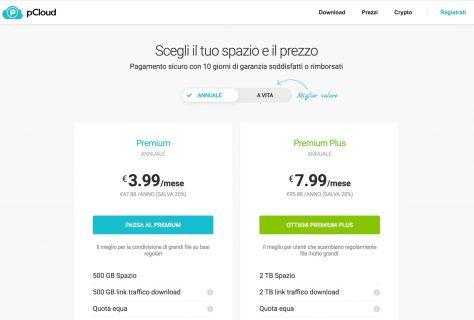 Prezzi Piani Premium