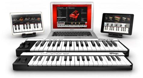 iPad Tastiera Musicale e Macbook Pro