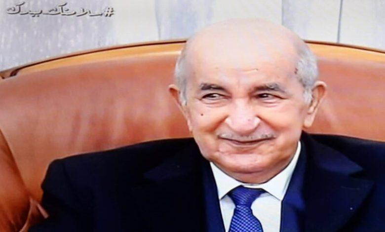 صورة رئيس الجمهورية يعود الى الوطن