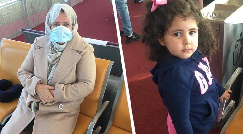 صورة بالصور: معاناة الجزائريين العالقين بمطار شارل ديغول بفرنسا
