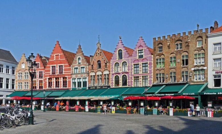 صورة غلق شامل في بلجيكا حتى 25 افريل