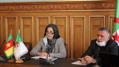 صورة تأسيس مجلس الأعمال الجزائري – الكاميروني