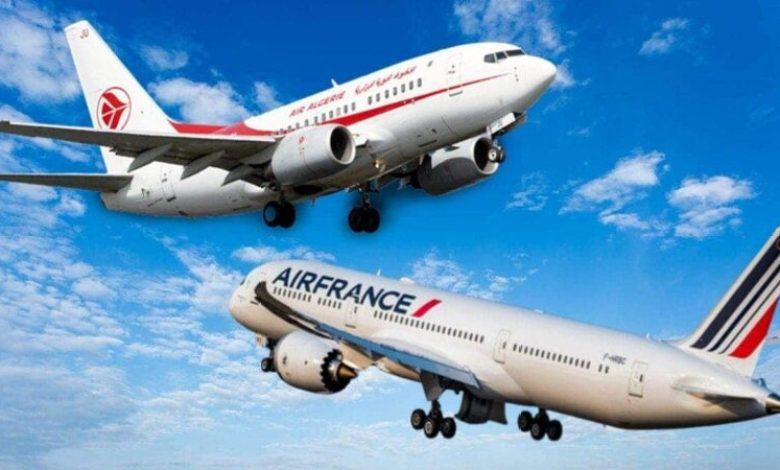 صورة الجوية الفرنسية تنطلق في بيع تذاكر الرحلات لشهر نوفمبر إلى الجزائر