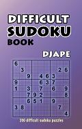 Difficult sudoku book