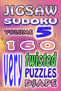 Jigsaw Sudoku book, volume 5