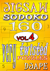 Jigsaw Sudoku book, volume 4