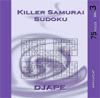 Killer Samurai sudoku, volume 3