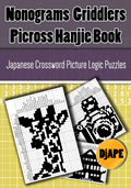 Nonograms Picross Griddlers Hanjie book
