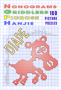 Nonograms Griddlers Picross Hanjie book 100 picture puzzles