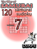 Sudoku Samurai book, The Way of Samurai 7