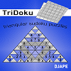Tridoku : triangular sudoku variant game for Kindle