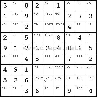 Solving techniques