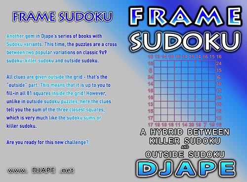 Frame Sudoku book